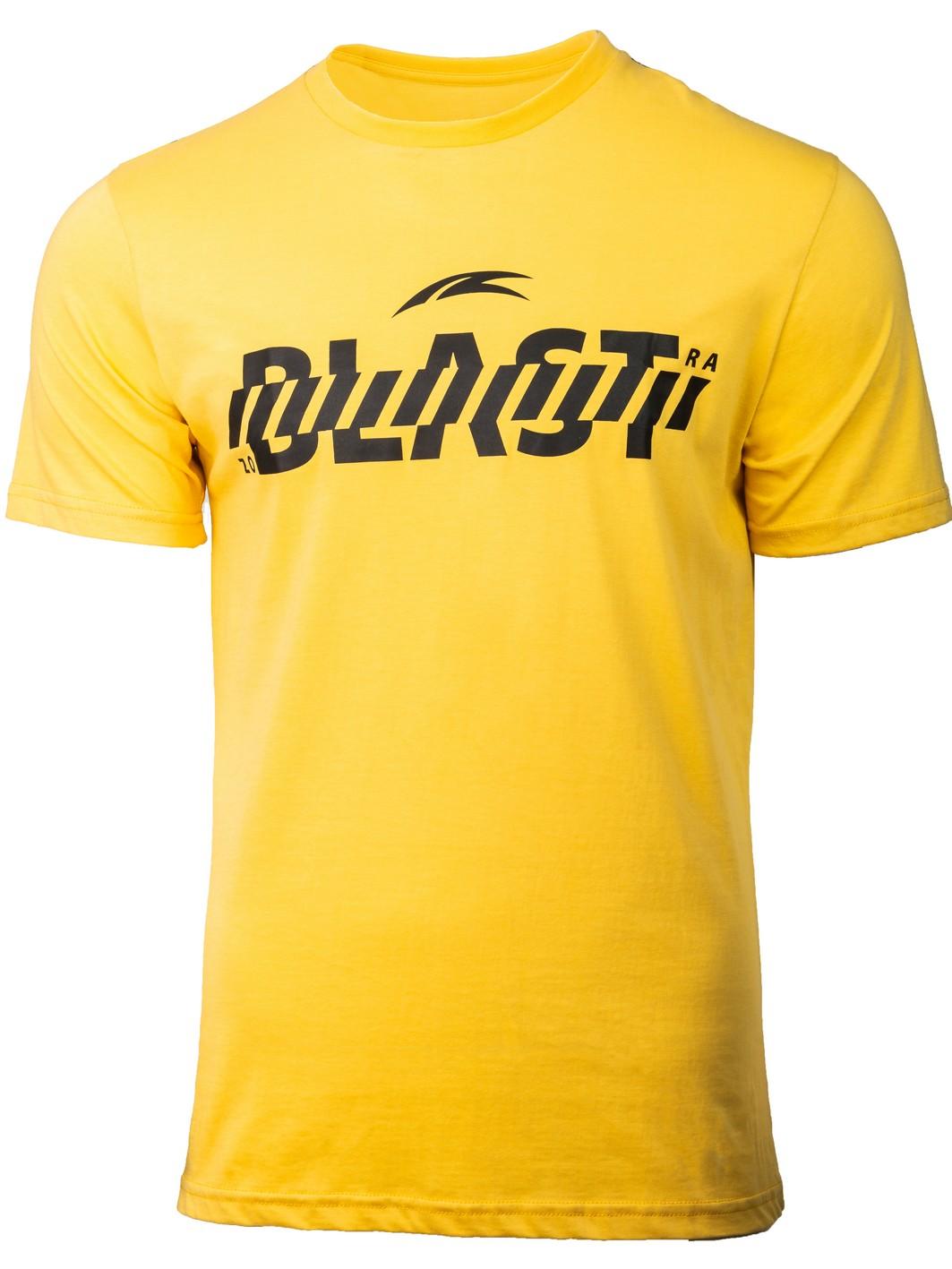 muška majica žuta
