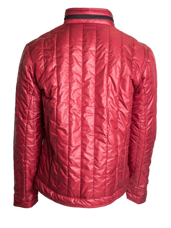 muška jakna bordo
