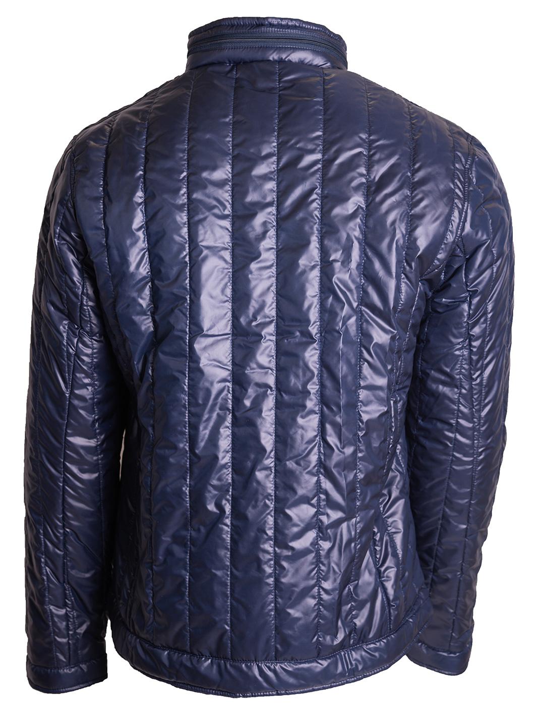 muška jakna teget