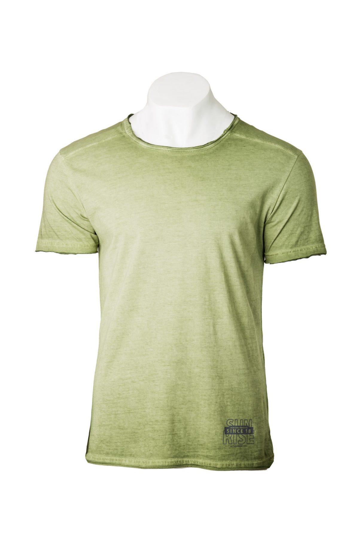 muška majica zelena
