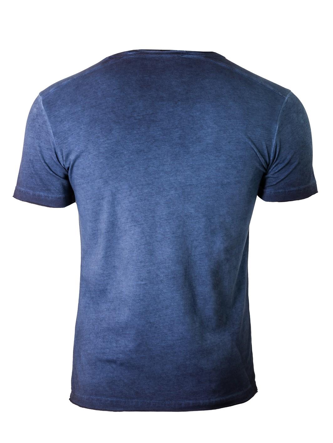 muška majica teget