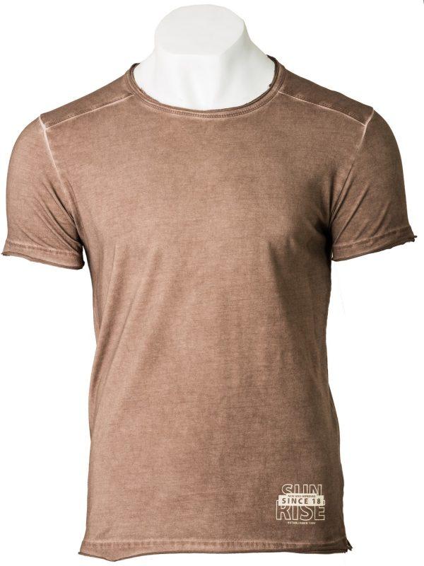 muška majica braon