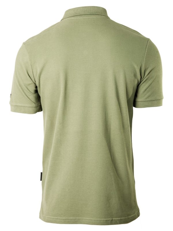 muška polo majica zelena