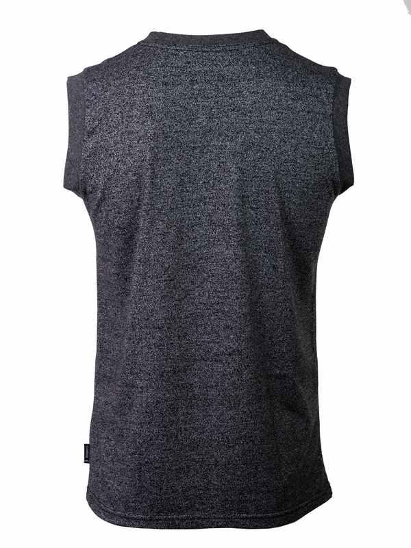 muška majica crno melirana
