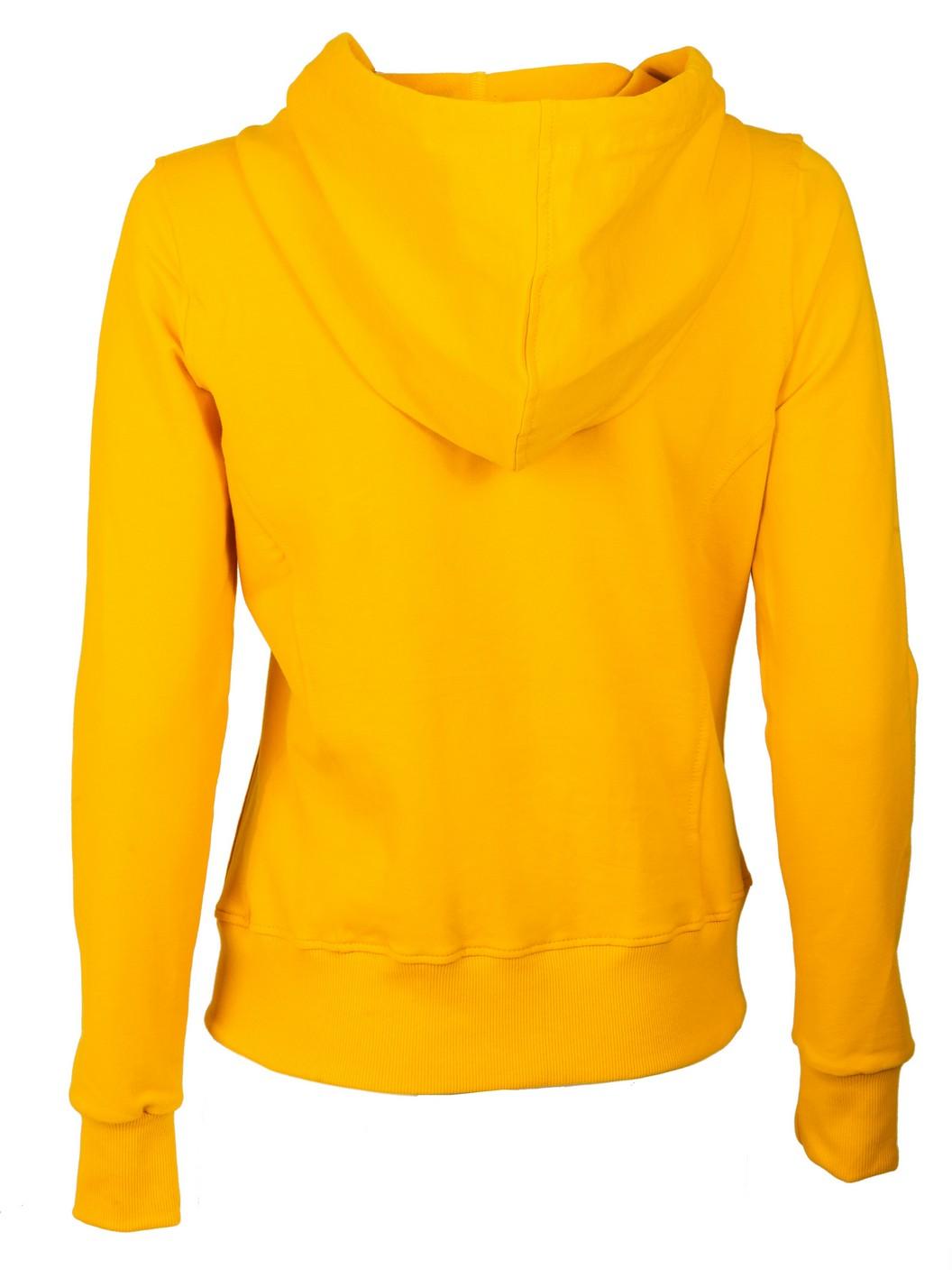 ženski duks žuti
