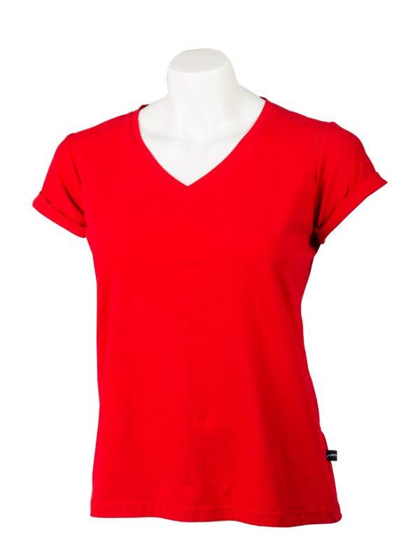 ženska majica crvena