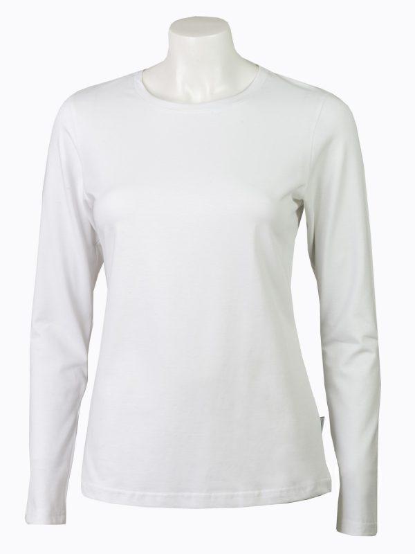 ženska majica dugi rukav bela