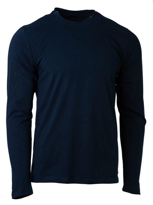 muška majica dugi rukav teget