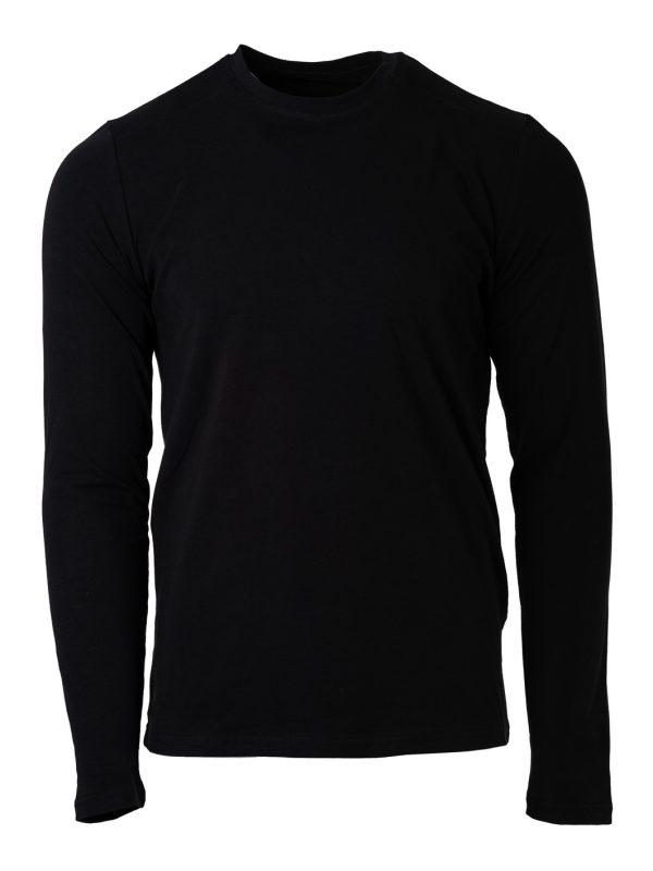 muška majica dugi rukav crna