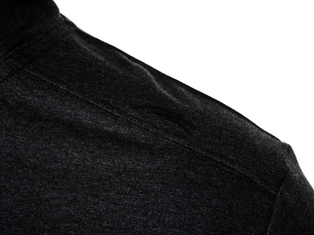 muški duks tamno sivi