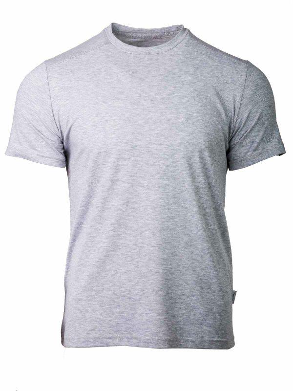 muška majica siva