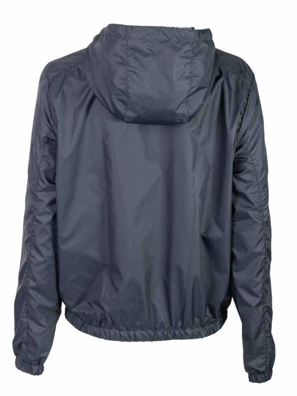 ženska jakna šuškava teget