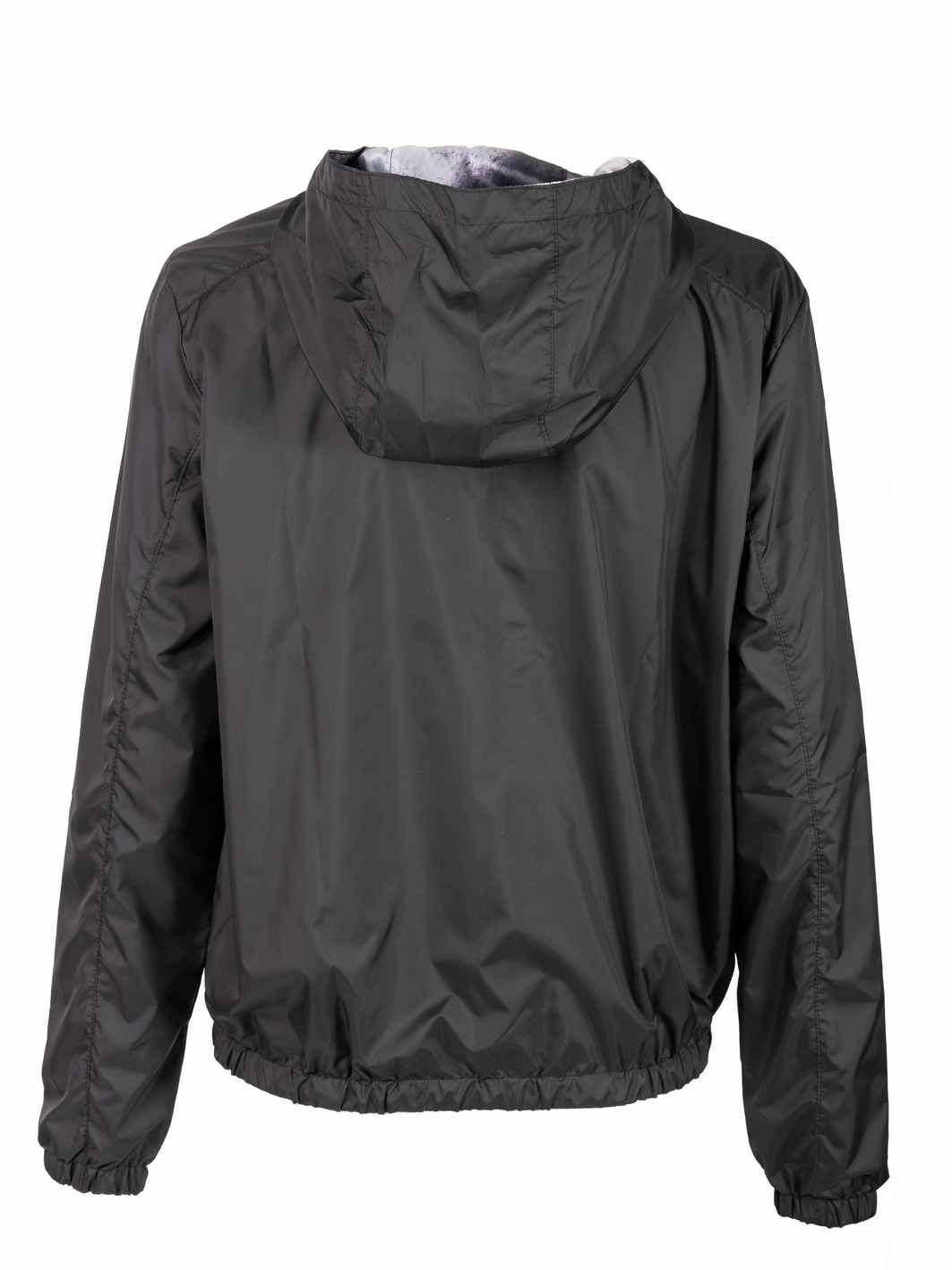 ženska jakna šuškava crna