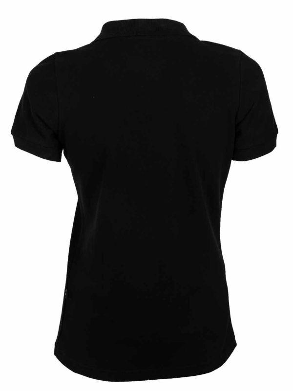 ženska polo majica crna