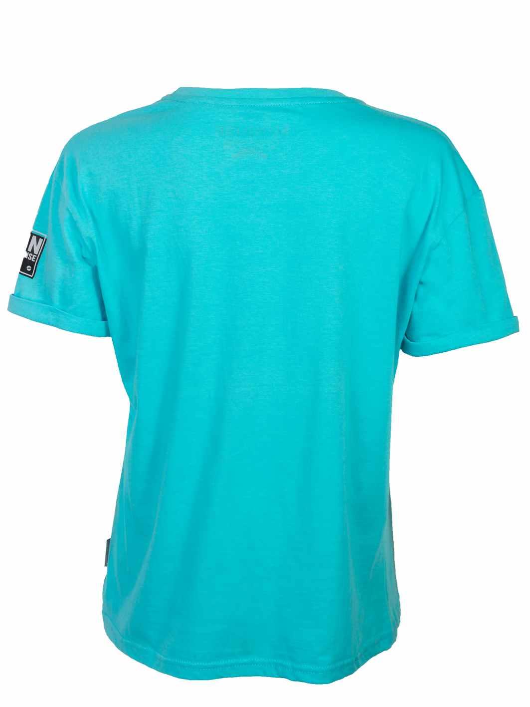 ženska majica tirkiz