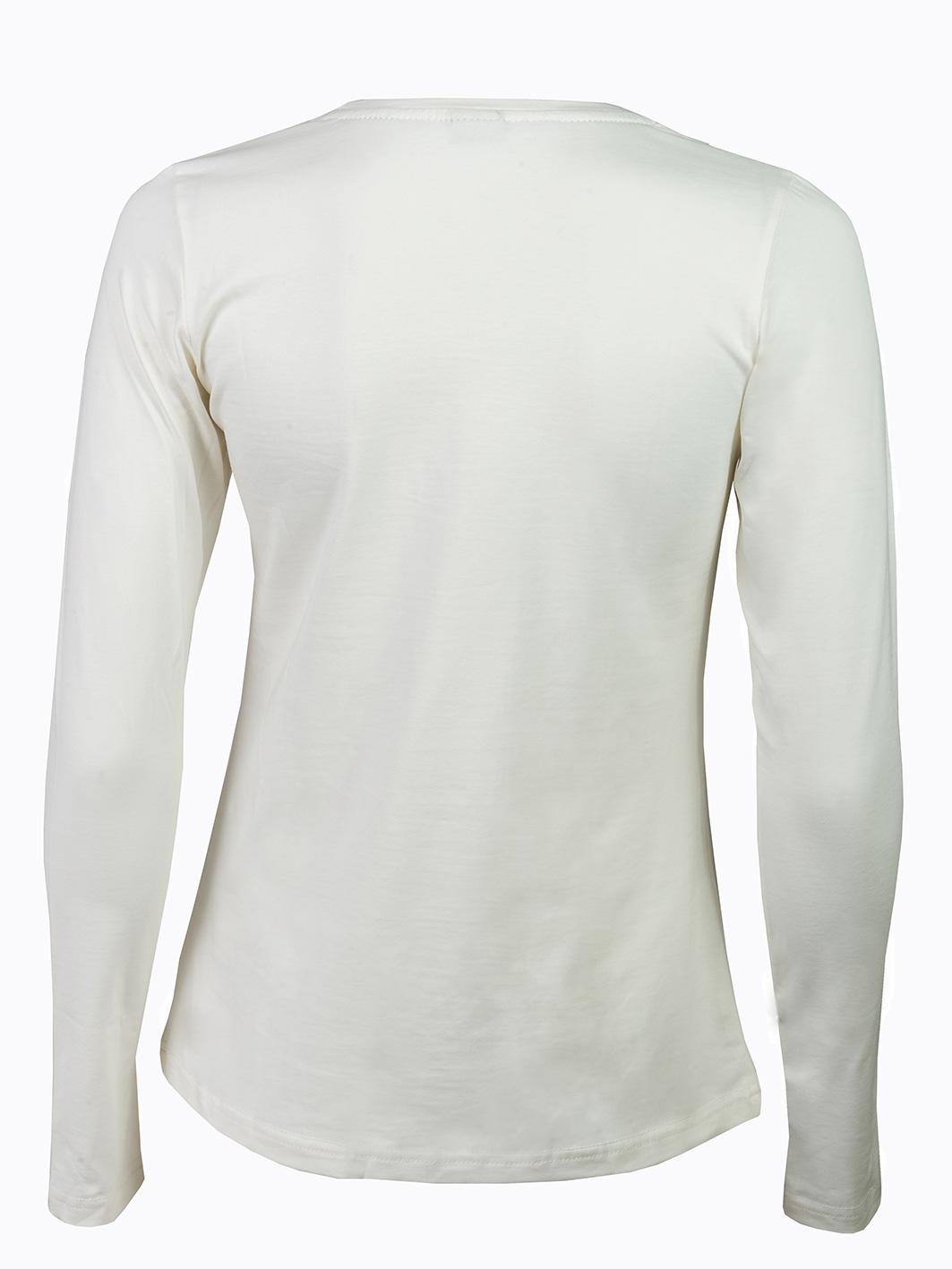 ženska majica dugi rukav bež